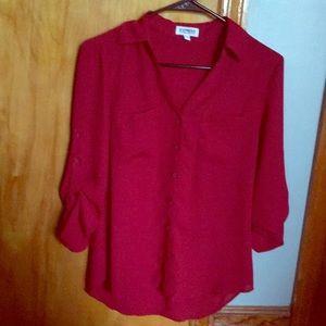 Express Portofino Shirt (Red-XS)